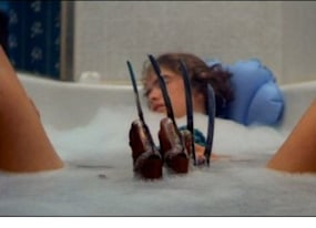 15 a nightmare on elm street bathtub claw 20 most iconic horror scenes of all time