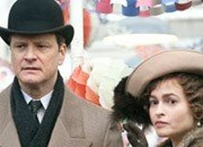 the king s speech premiere with hollywood royalty colin firth and helena bonham carter video