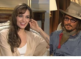 johnny depp angelina jolie and paul bettany on the tourist