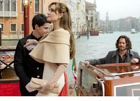 the tourist review jolie and depp don t travel well together