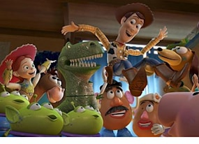 pixar mashup makes us cry over buzz and woody one last time