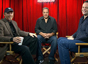 vince vaughn kevin james and ron howard on comedy improvisation and reality television