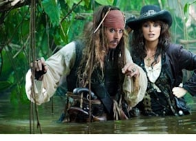 pirates of the caribbean 4 trailer mermaids zombies and blackbeard