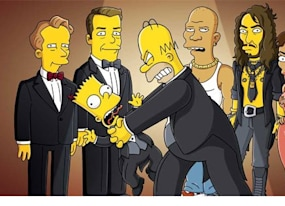 the simpsons goes to the oscars