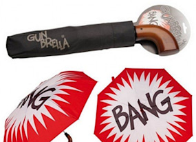 geek gift of the day imitate the joker with this gunbrella