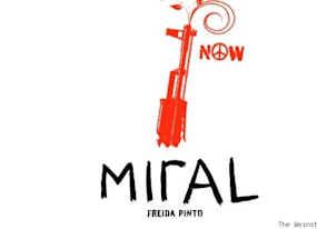 miral exclusive poster make films not war