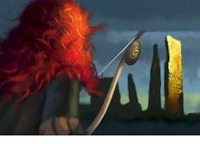 your first look at pixar s next film brave