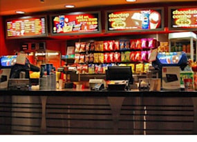 update no calorie counts at movie theater concession stands