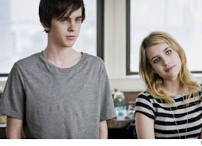 emma roberts freddie highmore get angsty in the art of getting by trailer