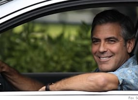 the descendants trailer george clooney takes care of the kids