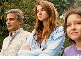 the descendants trailer george clooney is clueless