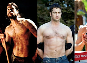 an exhaustive look at the hunky men in this weekend s movies