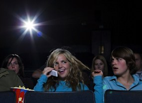 why the heinous experience of going to movie theaters could kill the film industry