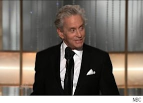 healthy michael douglas gets standing ovation at globes video