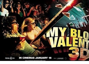 my bloody valentine becomes first live action feature film released on new 3 d blu ray