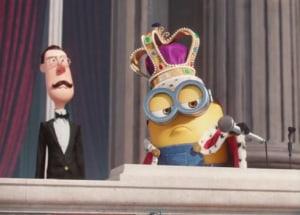 the new minions trailer stars sandra bullock the queen and cuteness