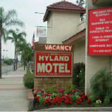 Hyland Motel - Brea, California -