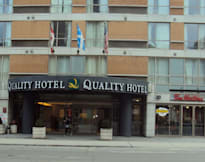 Quality Hotel Montreal Downtown - Montreal, Canada - Right downtown Montreal