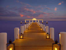 Cheeca Lodge & Spa - Islamorada, Florida - Dusk Dock at Cheeca Lodge & Spa, Islamorada FL