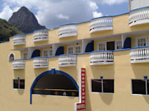 The Downtown Hotel - Soufriere, St Lucia -