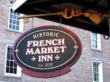 Historic French Market Inn - New Orleans, Louisiana -
