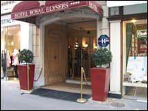 Hotel Royal Elysees - Paris, France -
