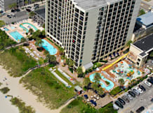 Sea Crest Oceanfront Resort - Myrtle Beach, South Carolina - Ocean Side