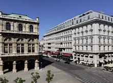 Hotel Sacher Wien - Vienna, Austria - Front View by day