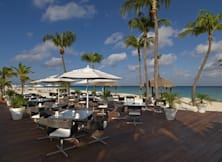 Golden Tulip Bucuti & Tara Beach Resorts - Eagle Beach, Aruba - Restaurant Deck