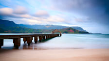 Hanalei Bay and Pier
