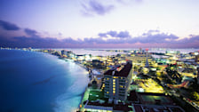 Cancun at Night