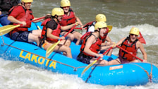 White Water Rafting: Lakota Guides