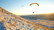 Sunset Paragliding