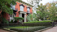 Mercer-Williams house in Savannah, Georgia(Midnight in the Garden of Good and Evil)
