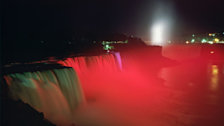 Niagara Falls Illumination Show