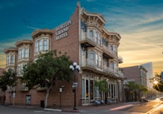 Horton Grand Hotel - San Diego, California - Front of Horton Grand Hotel