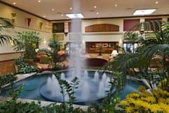 Columbus Airport Marriott - Columbus, Ohio - Lobby Atrium