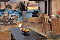 Wailea Beach Villas - Wailea, Hawaii - 3BR/OV Wailea Beach Villas Living Rm/Lanai