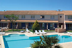 Le Royal Hotel - Aigues-Mortes, France - Pool view