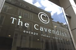 The Cavendish London - London, United Kingdom - Logo on Duke Street