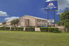 Americas Best Value Inn - South Sioux City, Nebraska - Exterior with Sign