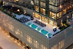 Trump Soho New York - New York, New York - Trump SoHo Exterior With Pool Deck