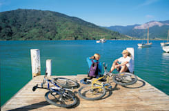 Portage Resort Hotel - Picton, New Zealand -