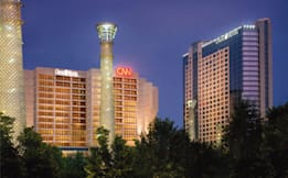 Omni Hotel at CNN Center - Atlanta, Georgia - Exterior