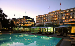 Beau-Rivage Palace - Lausanne, Switzerland -