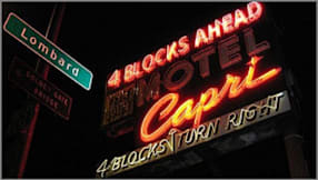 Capri Motel - San Francisco, California -