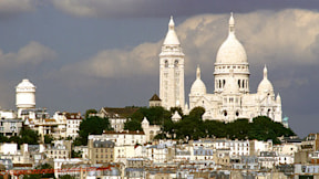 The Sacred-Heart Basilica of Montmartre - Paris, France