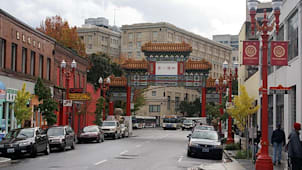 Chinatown in Portland
