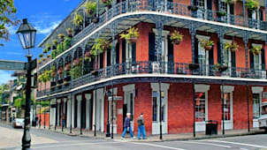 Balcony in French Quarter