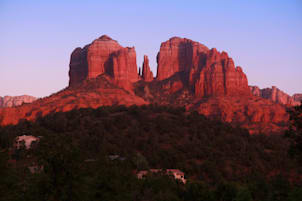 USA Arizona Sedona Cathedral Rocks fen